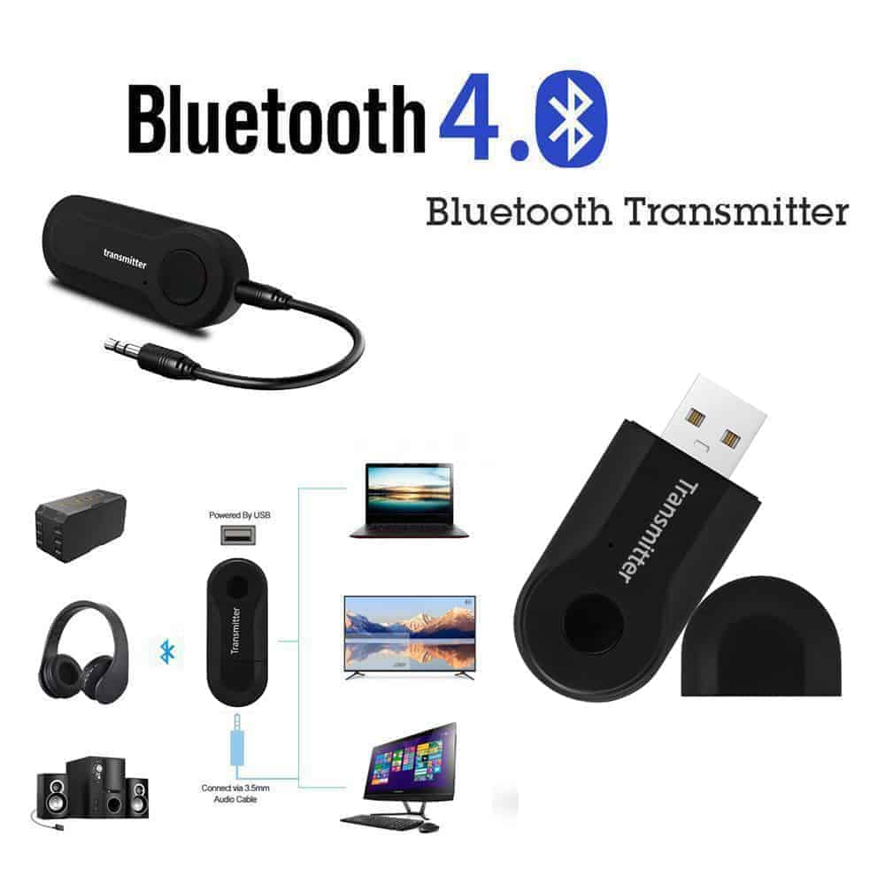บลูทูธ Transmitter Stereo Audio Music Adapter For TV and PC_6
