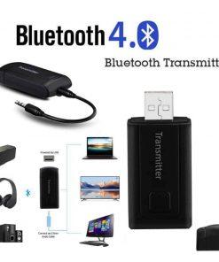 รีวิว บลูทูธ Transmitter BT 400 Stereo Audio Music Adapter For TV and PC เร็ว แรง ไม่ delay_new version1