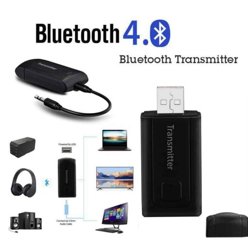 รีวิว บลูทูธ Transmitter BT 400 Stereo Audio Music Adapter For TV and PC เร็ว แรง ไม่ delay_new version1