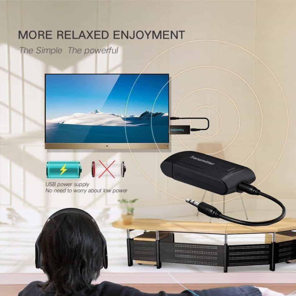 รีวิว บลูทูธ Transmitter BT 400 Stereo Audio Music Adapter For TV and PC เร็ว แรง ไม่ delay_new version2