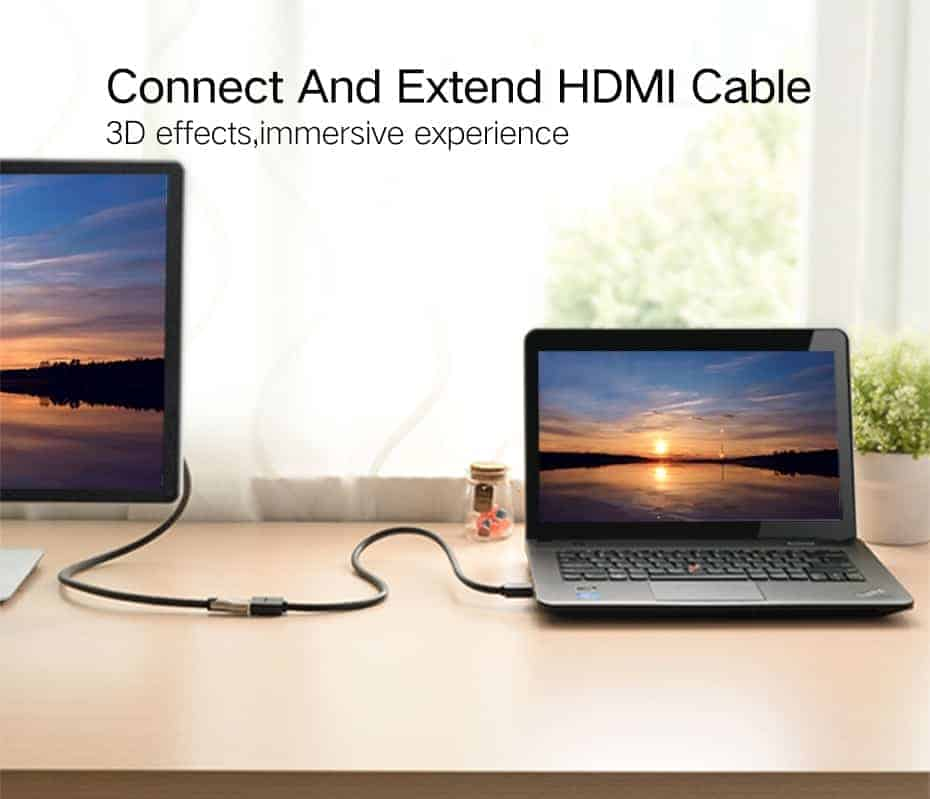 สายต่อ HDMI male to female extender for ComputerHDTV-Laptop-Projector_2