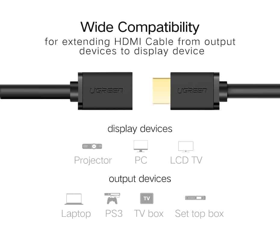สายต่อ HDMI male to female extender for ComputerHDTV-Laptop-Projector_3