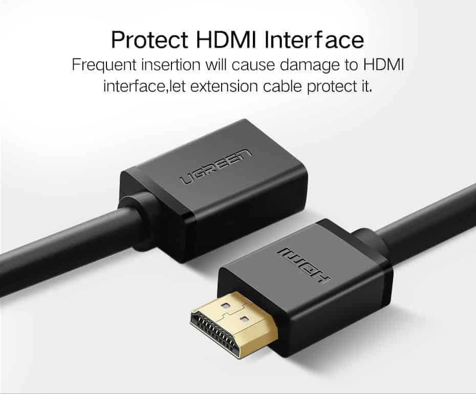 สายต่อ HDMI male to female extender for ComputerHDTV-Laptop-Projector_5