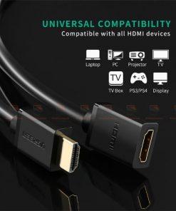 สายต่อ HDMI male to female extender for ComputerHDTV-Laptop-Projector_display_5