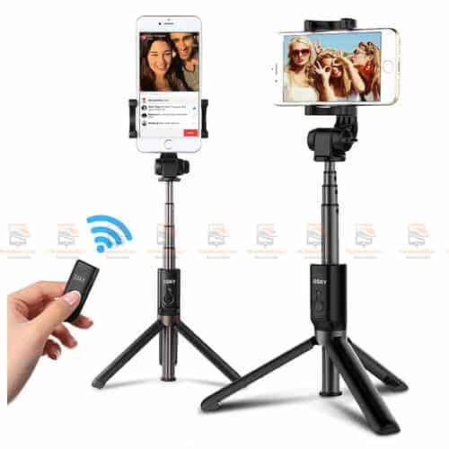 ไม้เซลฟี่ ขาตั้งมือถือ 3 in 1 Selfie Stick Phone Tripod Extendable 26 Inch Monopod-display1
