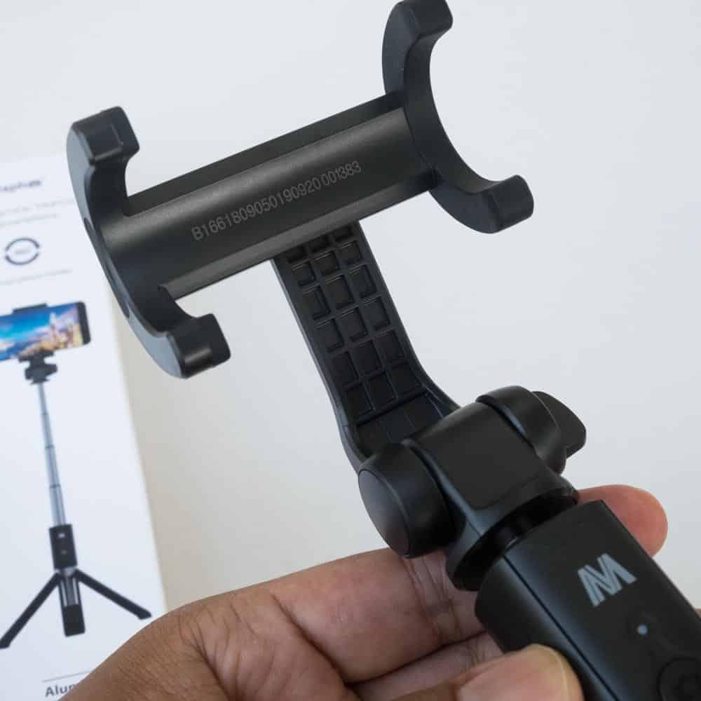 Selfie Stick Tripod Ulanzi-Clip Clamp Holder 2