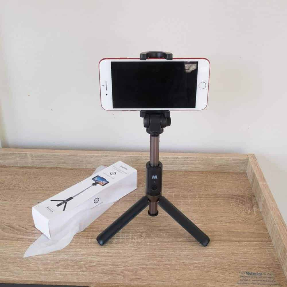 Selfie Stick Tripod Ulanzi-example for Smartphone 1