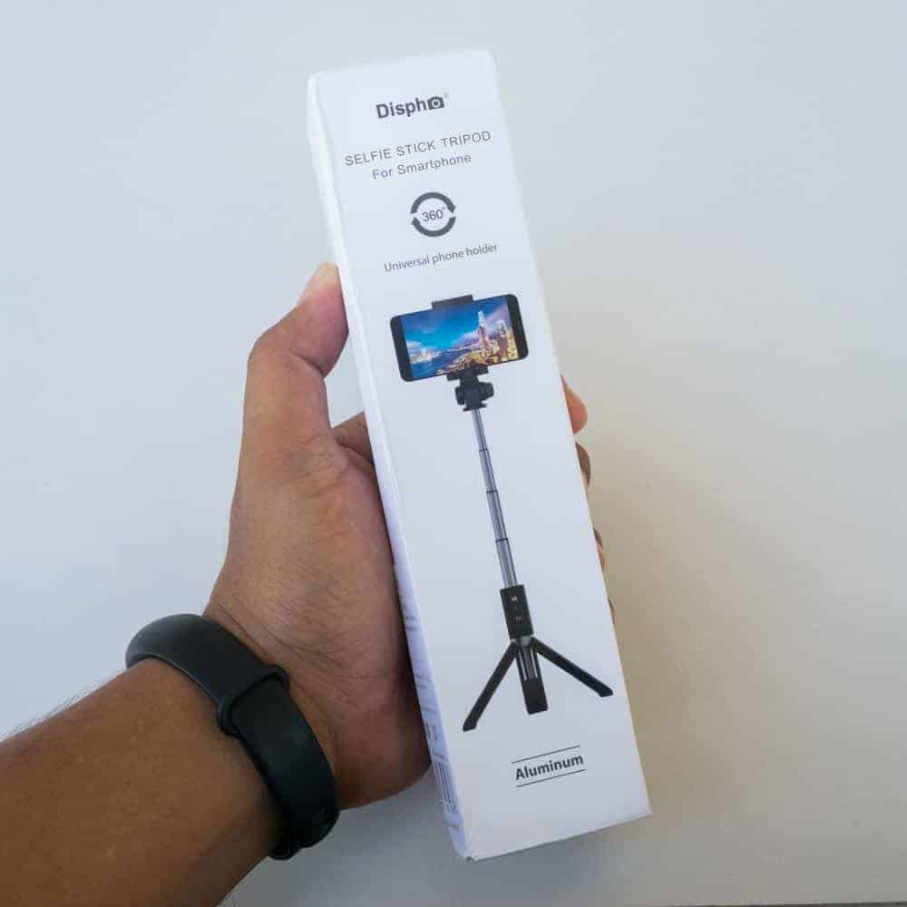 Selfie Stick Tripod Ulanzi-package