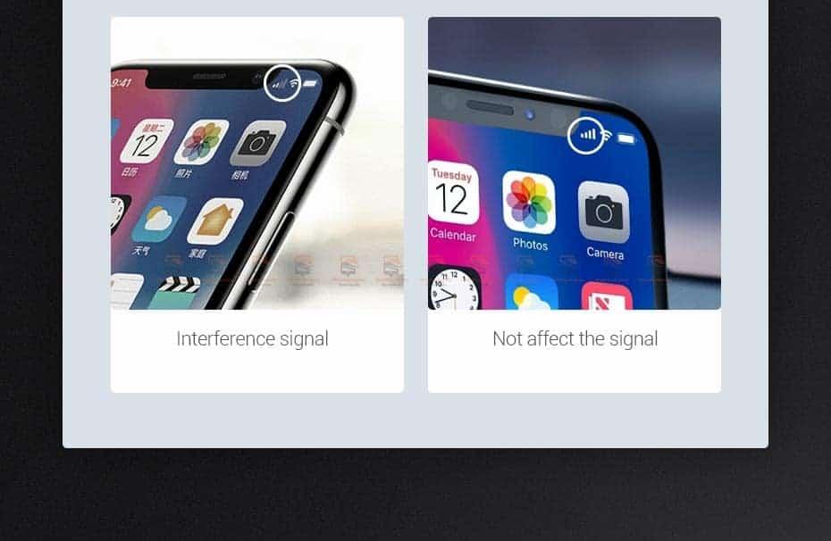 ที่ยึดโทรศัพท์ในรถ Ugreen Magnetic car Phone Holder-7-ไม่ทำให้สัญญาณมือถือมีปัญหา