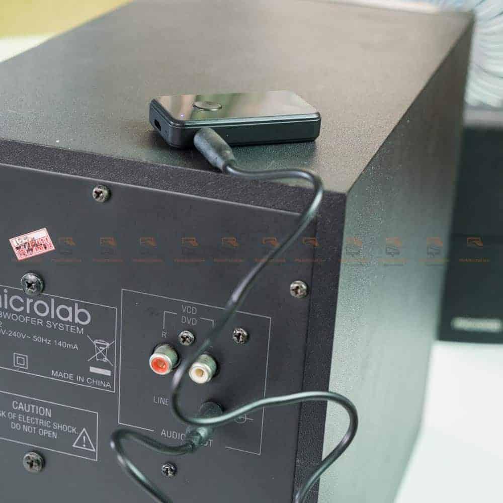 บลูทูธรถยนต์ BT-01 Bluetooth 4.2 Audio Receive Transmitter-for home speaker