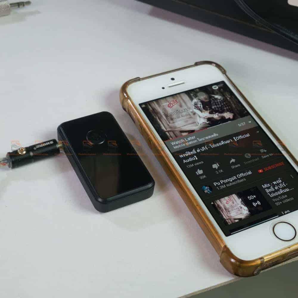 บลูทูธรถยนต์ BT-01 Bluetooth 4.2 Audio Receive Transmitter-good sound