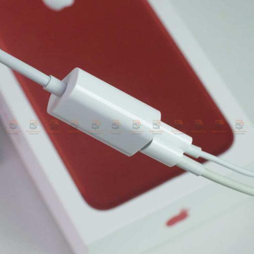 Y Cable Lightning adapter for iPhone 7 8 X Xr ฟังเพลง ใช้ไมค์ได้ พร้อมชาร์จ ยี่ห้อ -เสียบใช้งาน