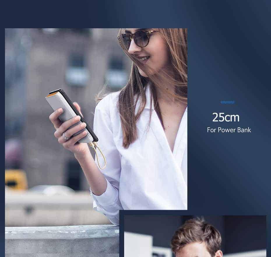 สายชาร์จ Micro USB 2.4A Ugreen Nylon Fast Charge for Samsung-android phone-10