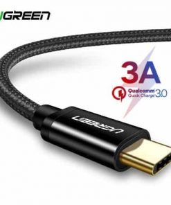 สายชาร์จ Type C Ugreen 3A Support Qualcomm Quick charger for android phone-1-gallrty 1