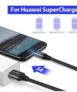 สายชาร์จ Type C Ugreen 5A for Supercharge Huawei P10 P20 Pro USB 3.1 Fast Charging-2