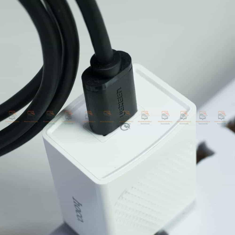 สายชาร์จ ugreen usb 3.0 type c Fast charging cable-รูปสินค้าจริง-รองรับชาร์จเร็ว