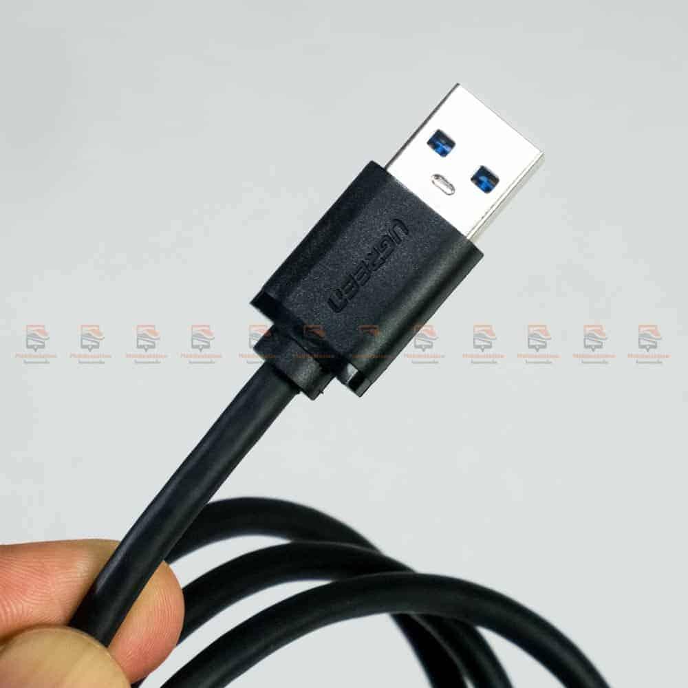 สายชาร์จ ugreen usb 3.0 type c Fast charging cable-รูปสินค้าจริง-USB 3.0