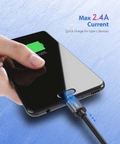 สายชาร์จ ugreen usb 3.0 type c Fast charging cable-max current