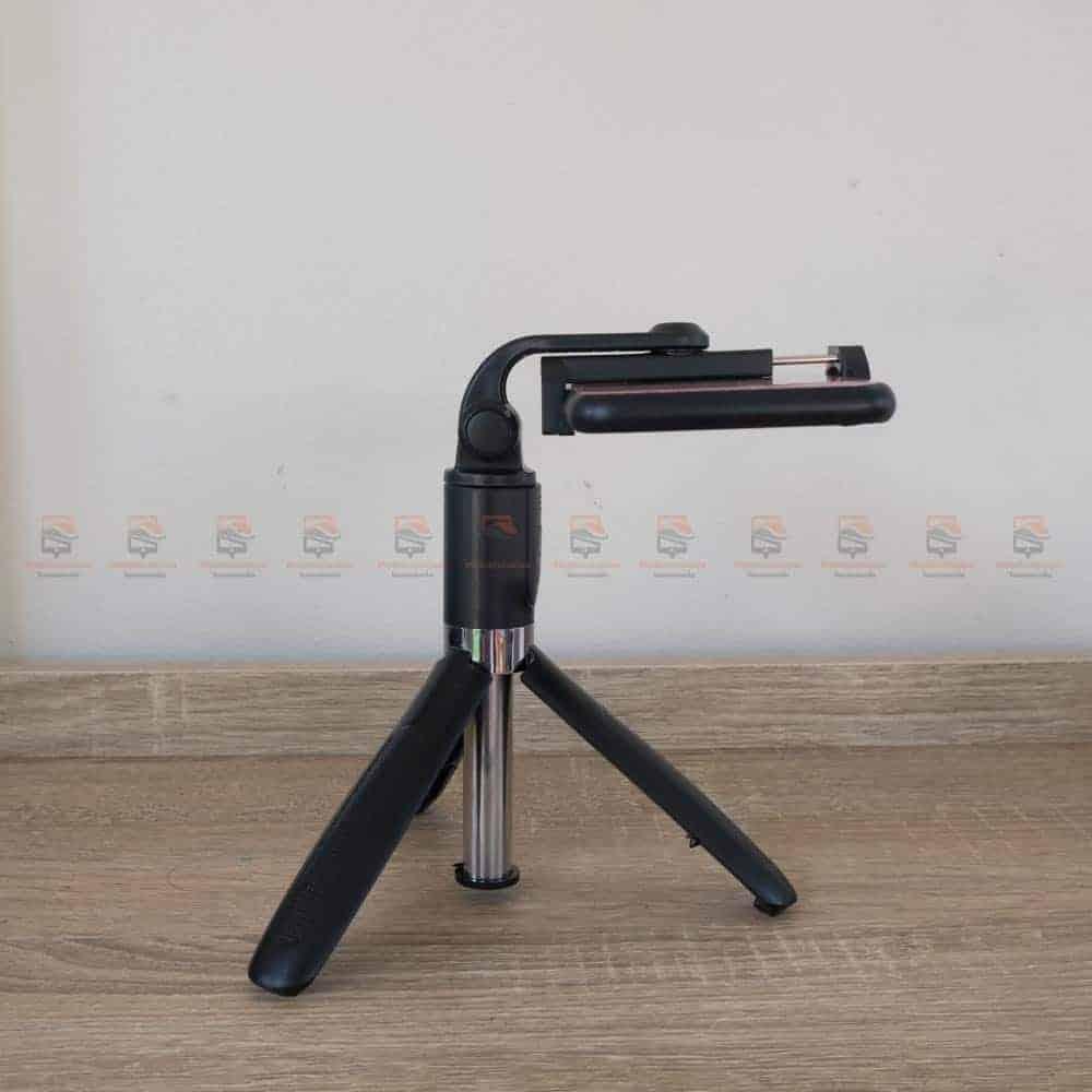 ไม้เซลฟี่ ขาตั้งมือถือ พร้อมรีโมท FANGTUOSI-มุมคว่ำ 90 องศา