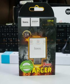 USB Charger Hoco S2Plus 3A fast charging-color white