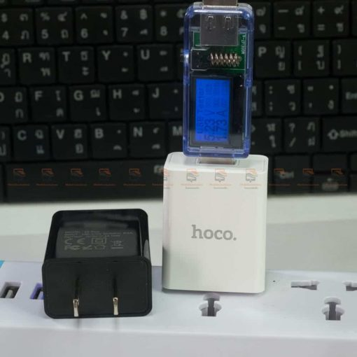 USB Charger Hoco S2Plus 3A fast charging-test try