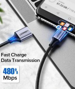 สายชาร์จ Type C UPGRADE 3A Fast CHARGING FOR DEVICES USB-C CONNECTOR-03
