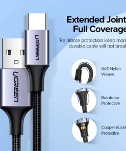 สายชาร์จ Type C UPGRADE 3A Fast CHARGING FOR DEVICES USB-C CONNECTOR-05