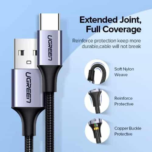 สายชาร์จ Type C UPGRADE 3A Fast CHARGING FOR DEVICES USB-C CONNECTOR-05