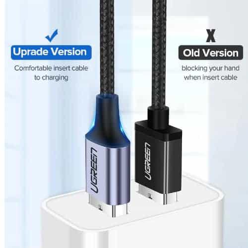 สายชาร์จ Type C UPGRADE 3A Fast CHARGING FOR DEVICES USB-C CONNECTOR-06