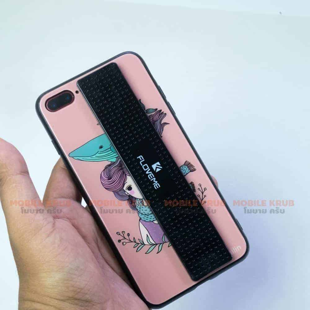 car Phone Holder FLOVEME Sticker Paste Real product image-behind the phone