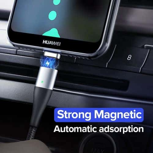 สายชาร์จ Magnetic Micro USB Type C Charger Data Cable Brand Ugreen For Samsung Android-Brochure 3