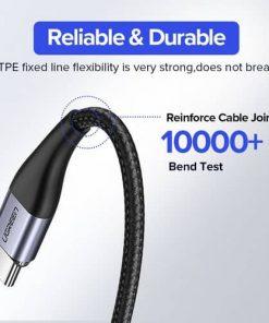 สายชาร์จ Magnetic Micro USB Type C Charger Data Cable Brand Ugreen For Samsung Android-Brochure 6