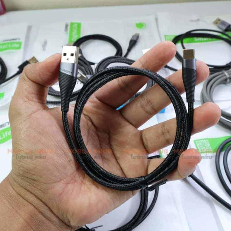 สายชาร์จ USB-C Ugreen SR Protection For Samsung Android