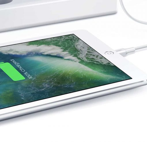 18W USB-C Power Adapter Ugreen for iPhone 11 11 PRo X Xs 8 - Recharge your iPad to 50% in 60mins