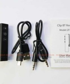 Bluetooth Car Audio Receiver Free charging cable and Aux cable