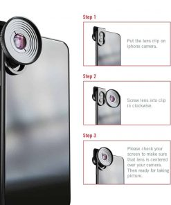 Mobile macro lens APEXEL HD 10X - Instructions for use