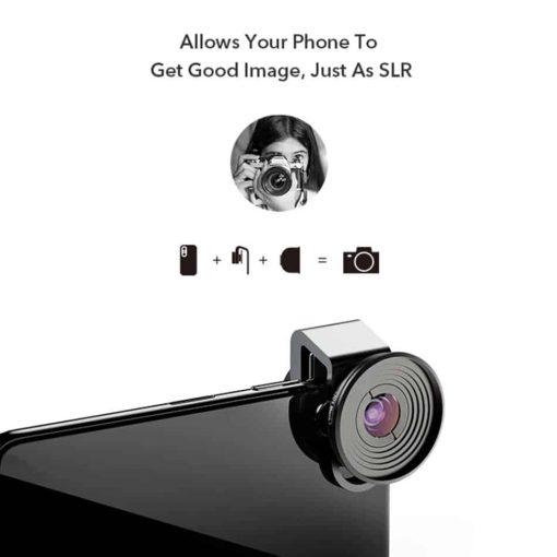 Mobile macro lens APEXEL HD 10X - Just As SLR