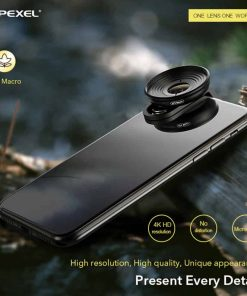 Mobile macro lens APEXEL HD 10X - Overview