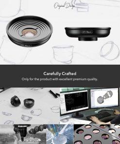 Mobile macro lens APEXEL HD 10X - Production process