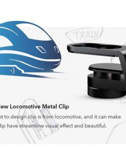 Mobile macro lens APEXEL HD 10X - locomotive metal clip