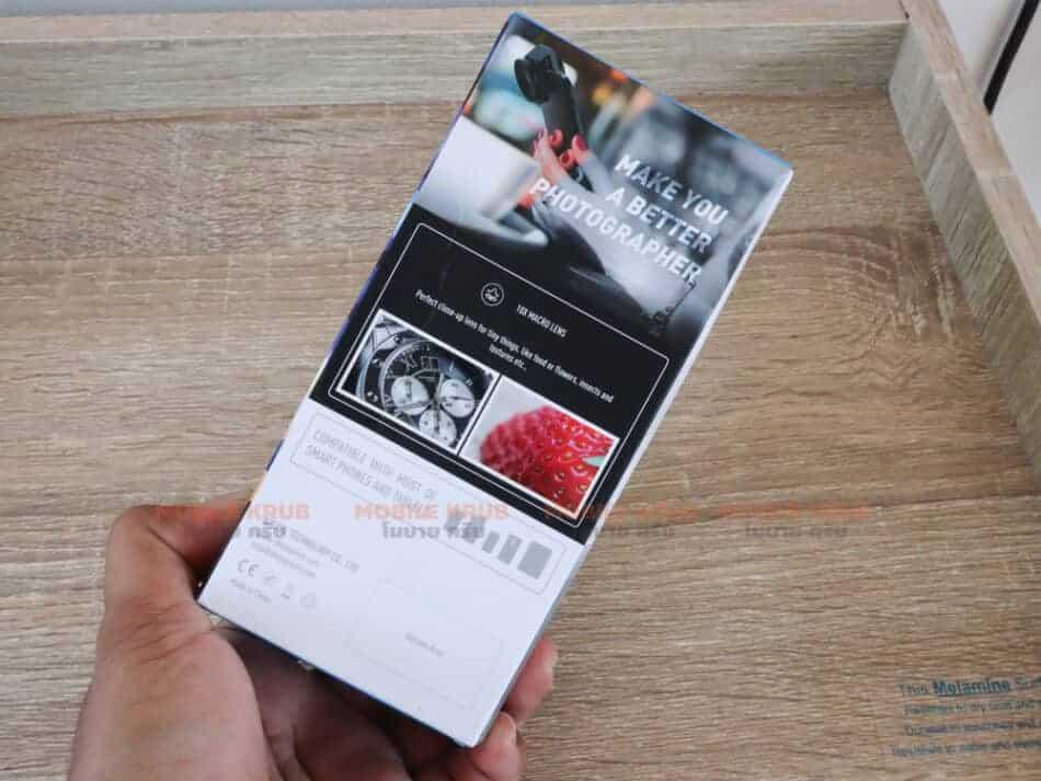 Mobile macro lens APEXEL HD 10X package 3