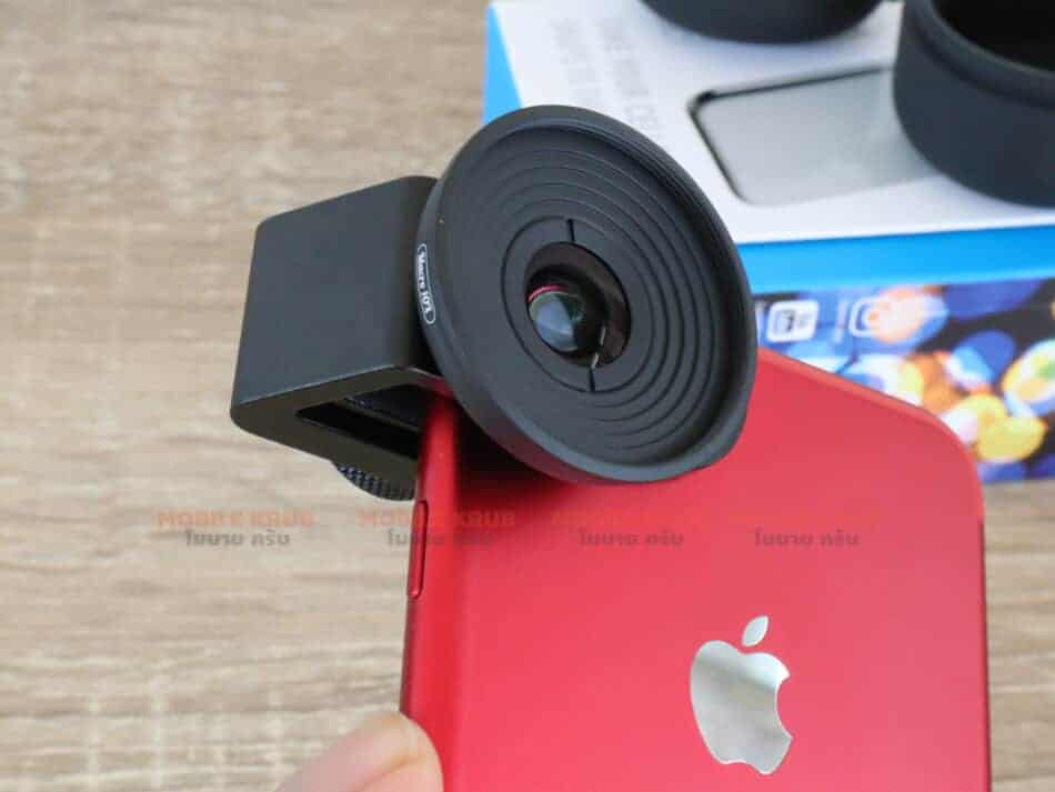 Mobile macro lens APEXEL HD 10X ready to use