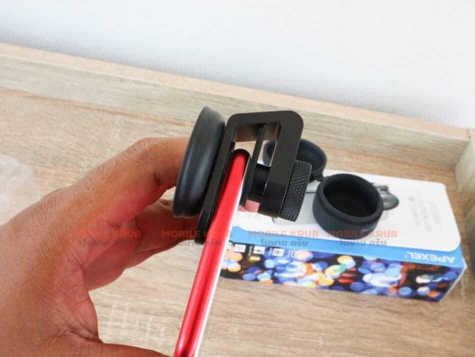 Mobile macro lens APEXEL HD 10X ready to use2
