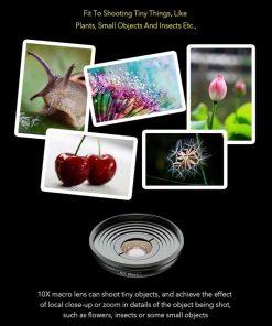 Mobile macro lens APEXEL HD 10X - work samples
