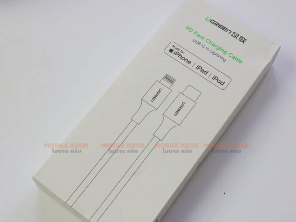 PD Fast Charging Cable USB-C To Lightning Ugreen for iPhone 11 11 PRo X Xs 8- package