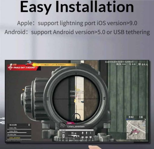 Phone to tv for Android iOS 3 in 1 Unnlink for gameming
