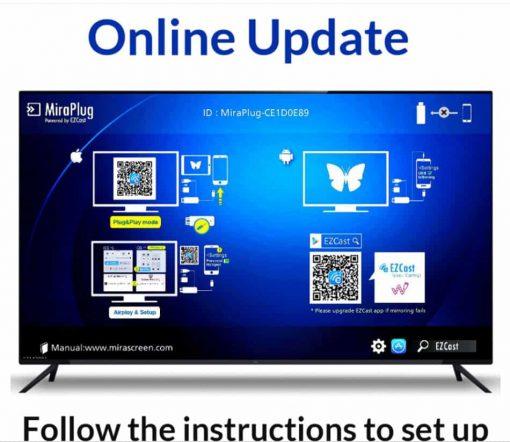 connecting smartphone tv unnlink Online update