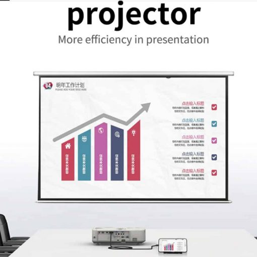 connecting smartphone tv unnlink for projector