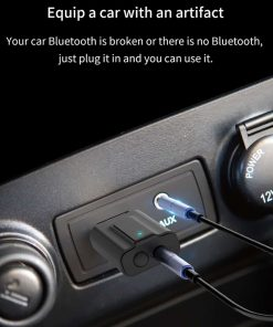 Bluetooth 5.0 car Audio Receiver Transmitter equip a car with an artiffact