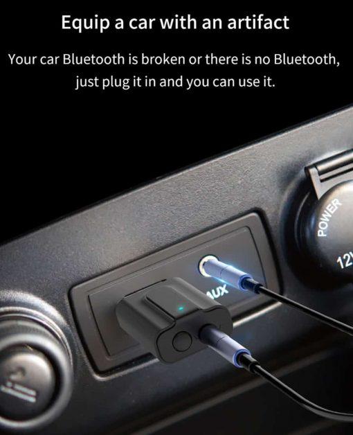 Bluetooth 5.0 car Audio Receiver Transmitter equip a car with an artiffact